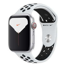 Apple Watch Nike Series 5 GPS + Cellular, 44mm Silver Aluminium Case with Pure Platinum/Black Nike Sport Band Deposit (Non-refundable)