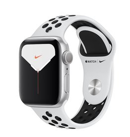 Apple Watch Nike Series 5 GPS, 40mm Silver Aluminium Case with Pure Platinum/Black Nike Sport Band Deposit (Non-refundable)