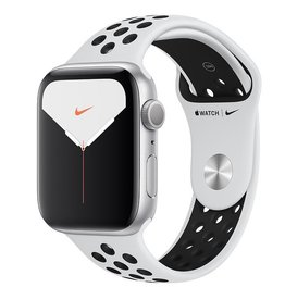 Apple Watch Nike Series 5 GPS, 44mm Silver Aluminium Case with Pure Platinum/Black Nike Sport Band Deposit (Non-refundable)