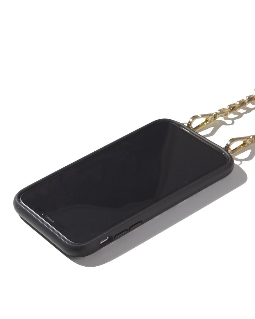 Sonix Sonix Leather Wallet (Neck Strap) Case for iPhone 11 - Black