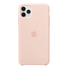 Apple Apple iPhone 11 Pro Max Silicone Case - Pink Sand