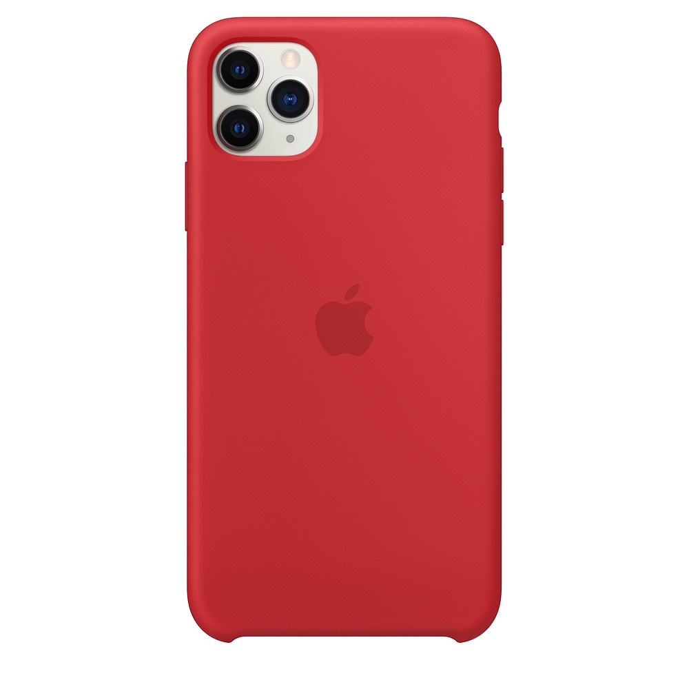 Apple Apple iPhone 11 Pro Max Silicone Case - (PRODUCT)RED