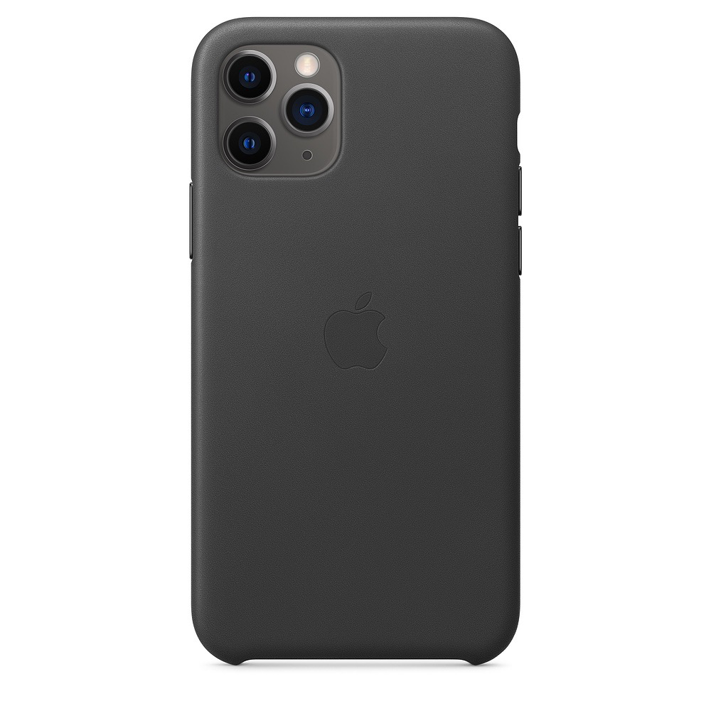 Apple Apple iPhone 11 Pro Leather Case - Black