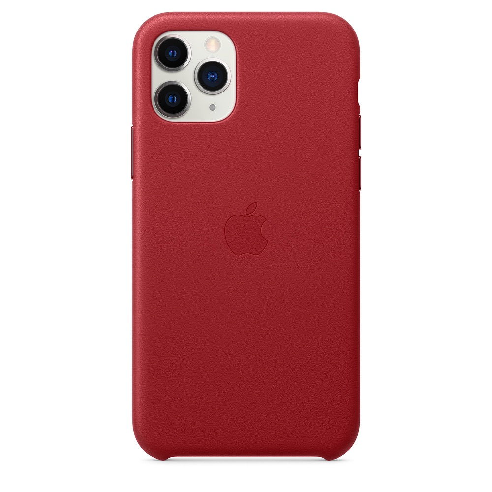 Apple Apple iPhone 11 Pro Leather Case - (PRODUCT)RED