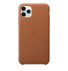 Apple Apple iPhone 11 Pro Max Leather Case - Saddle Brown