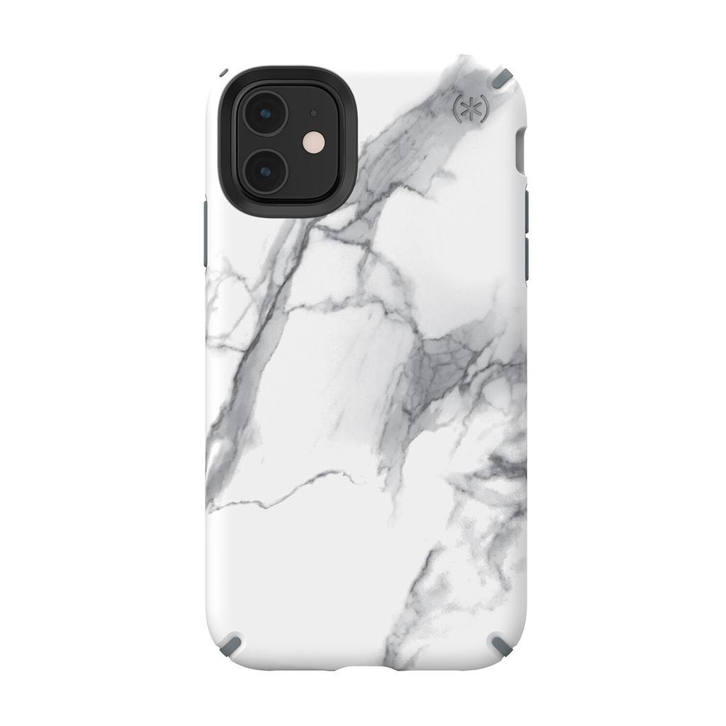 Speck Speck Presidio Inked for iPhone 11 - Carrara Marble