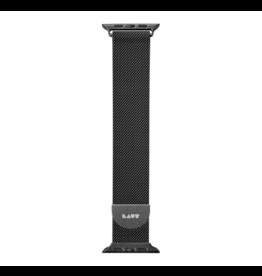 LAUT 44mm/42mm Steel Loop for Apple Watch - Black