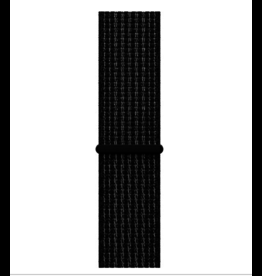 Apple 44mm Storm Black Platinum Nike Sport Loop