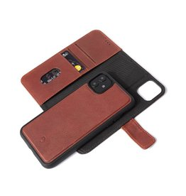 Decoded 2-in-1 Wallet Case for iPhone 11 - Brown