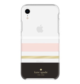 kate spade new york kate spade Hardshell Case for iPhone XR - Charlotte Stripe