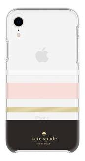 kate spade new york kate spade Hardshell Case for iPhone XR - Charlotte Stripe