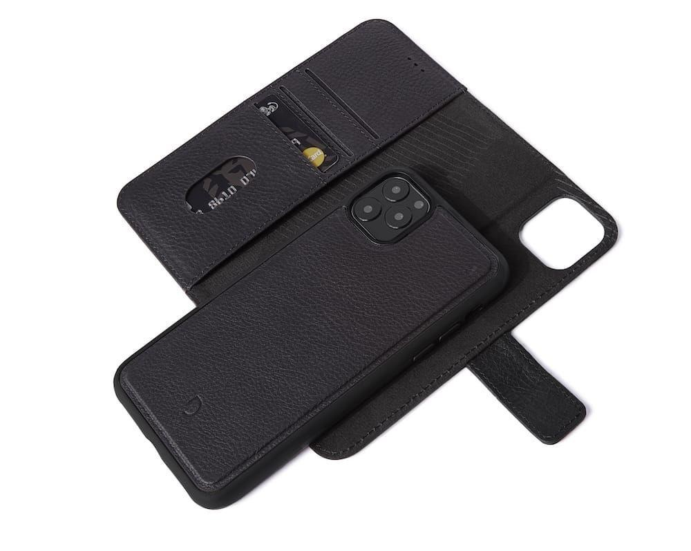 Decoded Decoded 2-in-1 Wallet Case for iPhone 11 Pro - Black