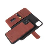 Decoded Decoded 2-in-1 Wallet Case for iPhone 11 Pro Max - Brown
