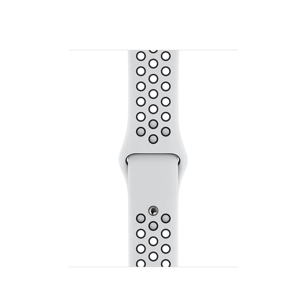 Apple 40mm Pure Platinum/Black NikeSportBand