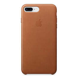 Apple Apple iPhone 8/7 Plus Leather Case - Saddle Brown