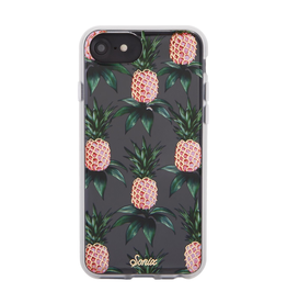 Sonix Sonix Clear Coat Case for iPhone 8/7/6 - Pink Pineapple