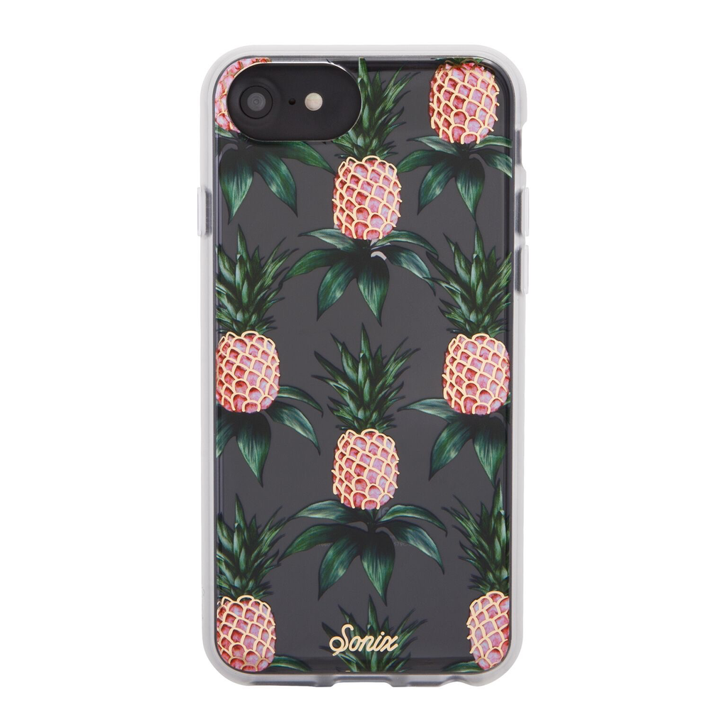 Sonix Sonix Clear Coat Case for iPhone SE (2020) 8/7/6 - Pink Pineapple