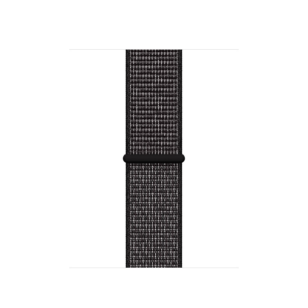 Apple 44mm Black Nike Sport Loop