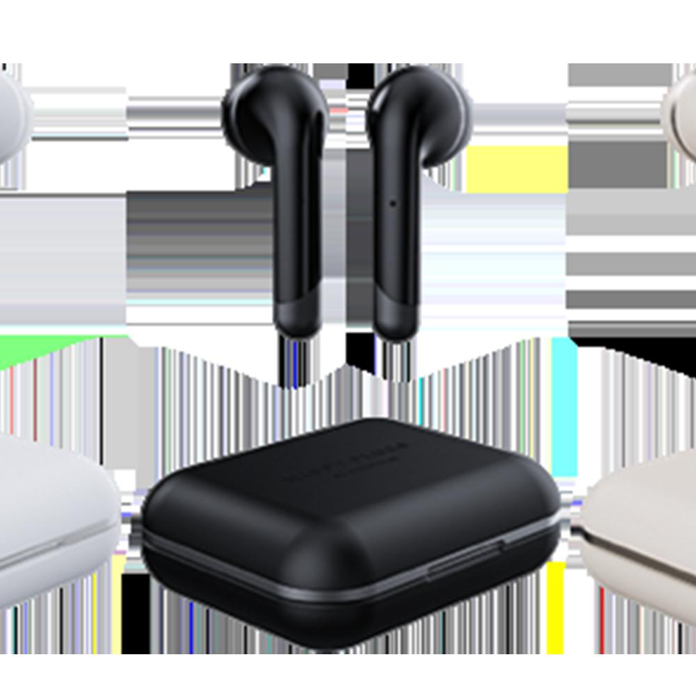 Happy Plugs Happy Plugs Air 1 True Wireless Earphones - Black