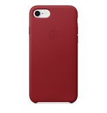 Apple Apple iPhone 8/7 Leather Case - (PRODUCT)RED