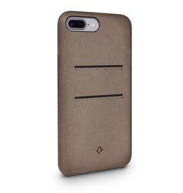 Twelve South Twelve South Relaxed Leather Case with Pockets for iPhone 8/7/6 Plus - Warm Taupe