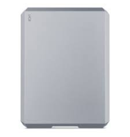Lacie LaCie 4TB Mobile Drive USB 3.0 & USB-C - Space Grey