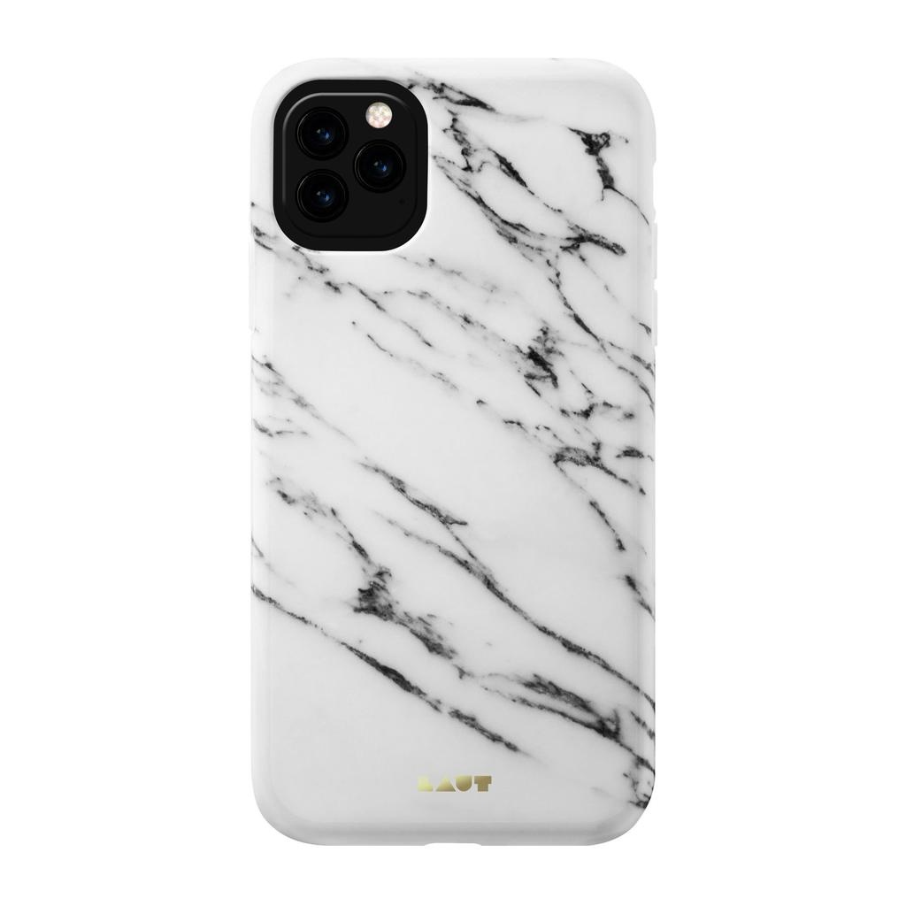 LAUT Huex Elements Case for iPhone 11 Pro - White Marble