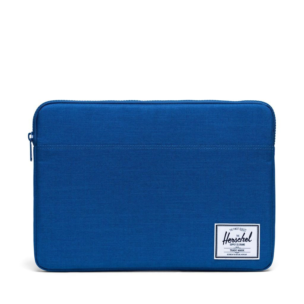 Herschel Supply Herschel Supply Anchor Computer sleeve 15 Inch - Monaco Blue Crosshatch