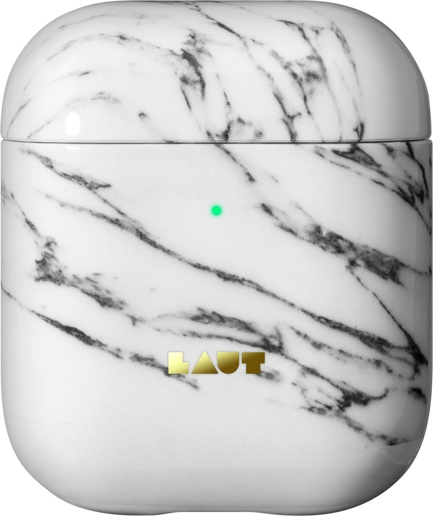 Laut Laut Pod for AirPods - White Marble
