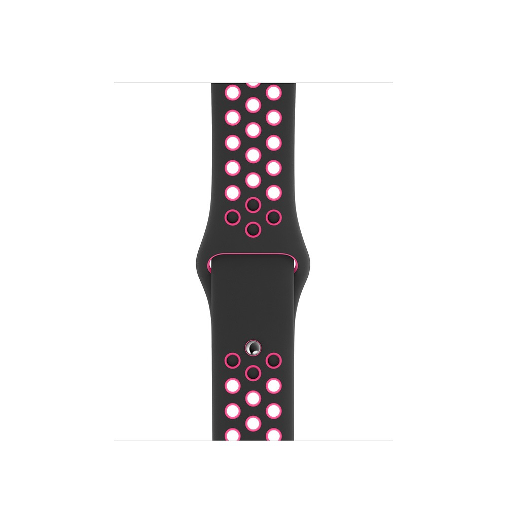 Apple 40mm Black/Pink Blast Nike Sport Band