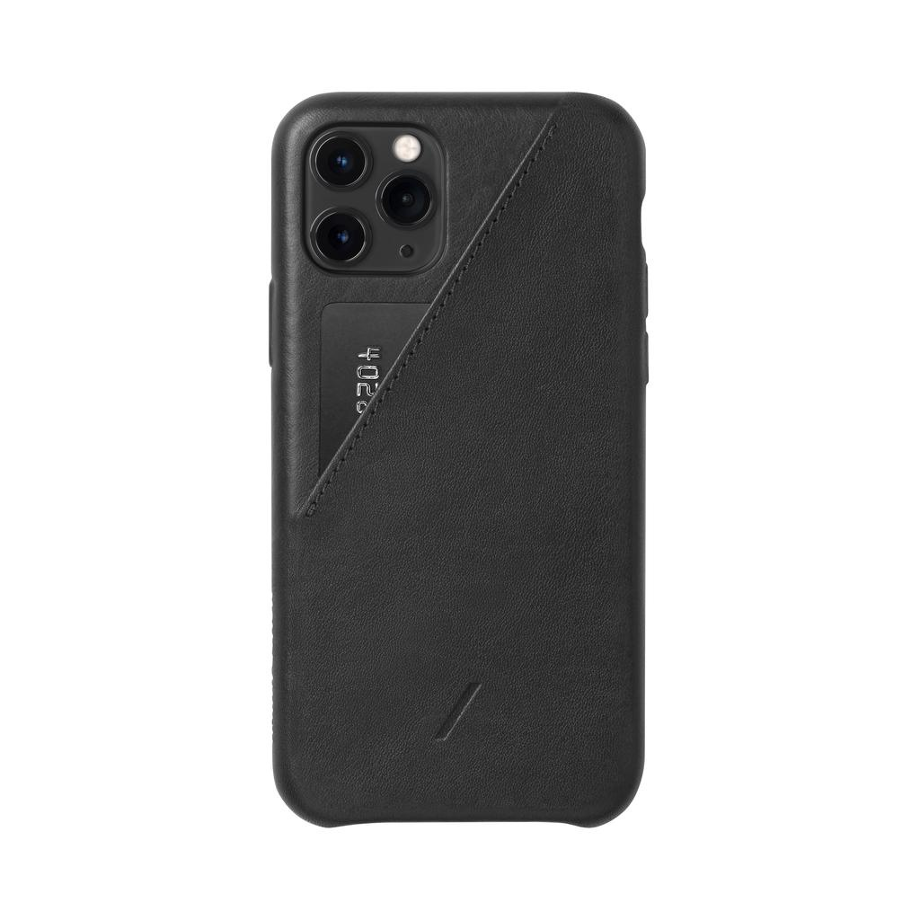 Native Union Native Union Clic Card Case for iPhone 11 Pro - Black