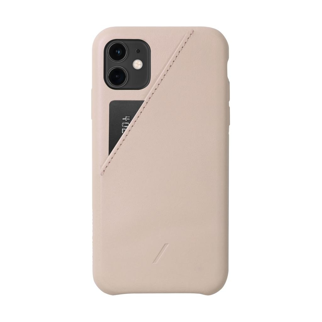 Native Union Native Union Clic Card Case for iPhone 11 - Rose