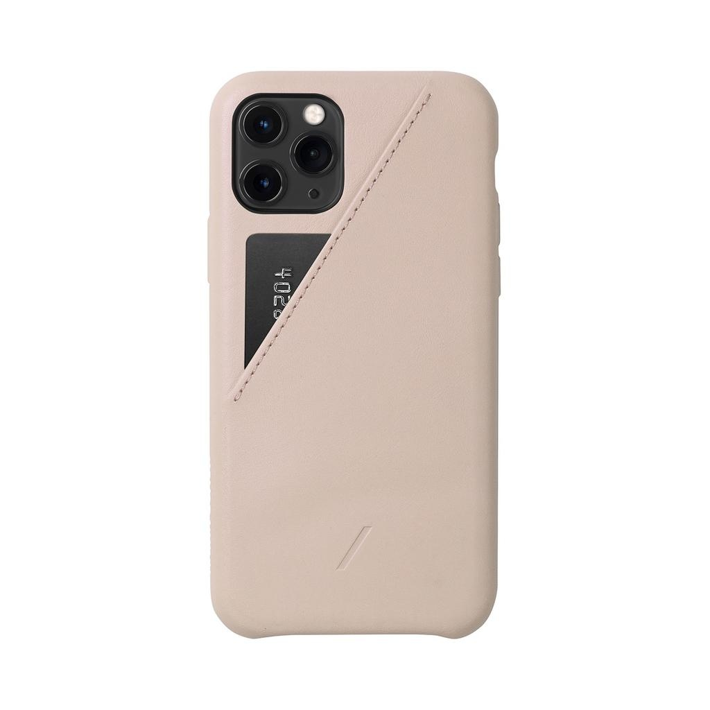 Native Union Native Union Clic Card Case for iPhone 11 Pro - Rose