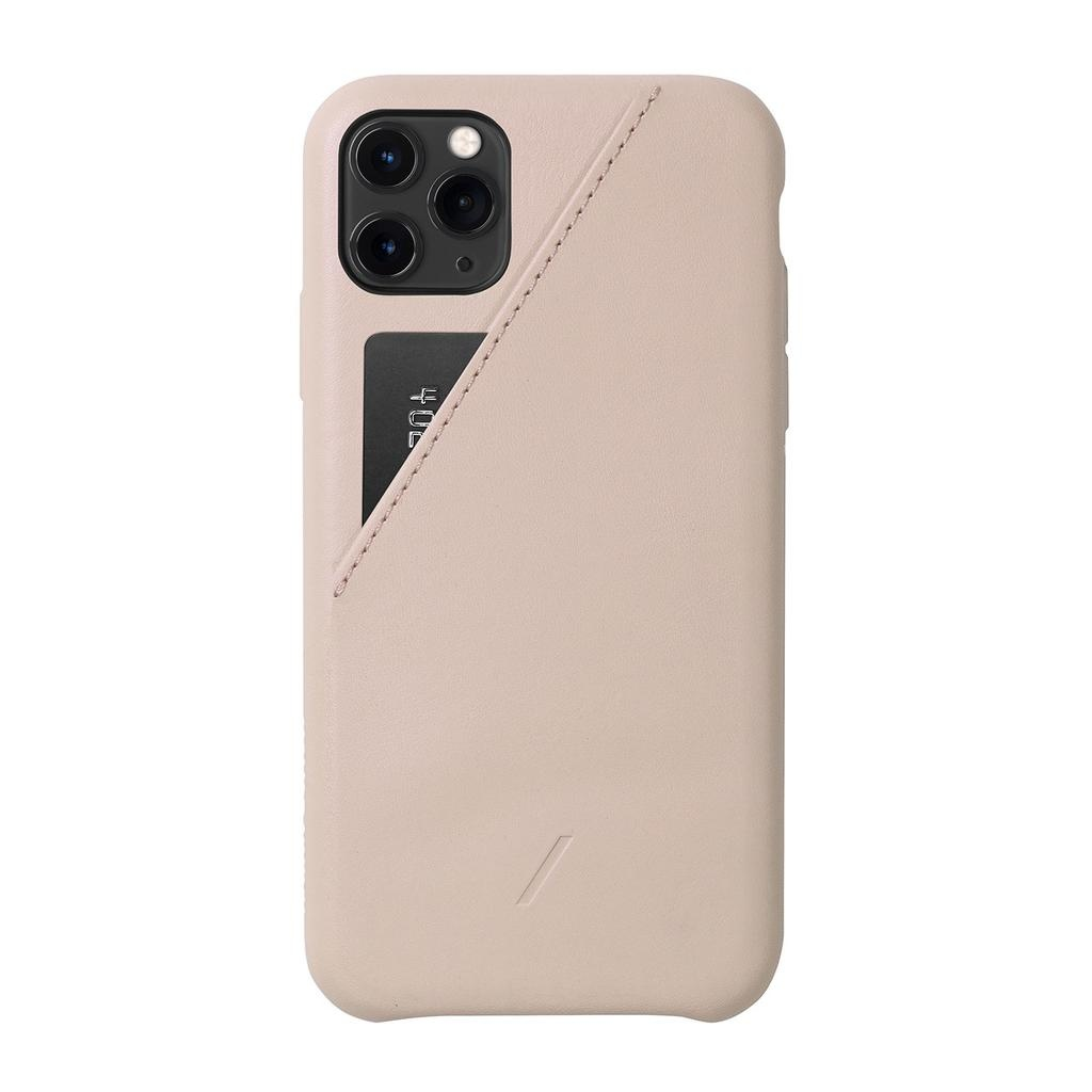 Native Union Native Union Clic Card Case for iPhone 11 Pro Max - Rose