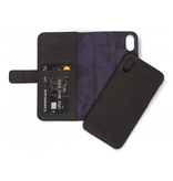 Decoded Decoded 2-in-1 Wallet Case for iPhone XR - Black