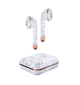 Happy Plugs Happy Plugs Air 1 True Wireless Earphones - White Marble