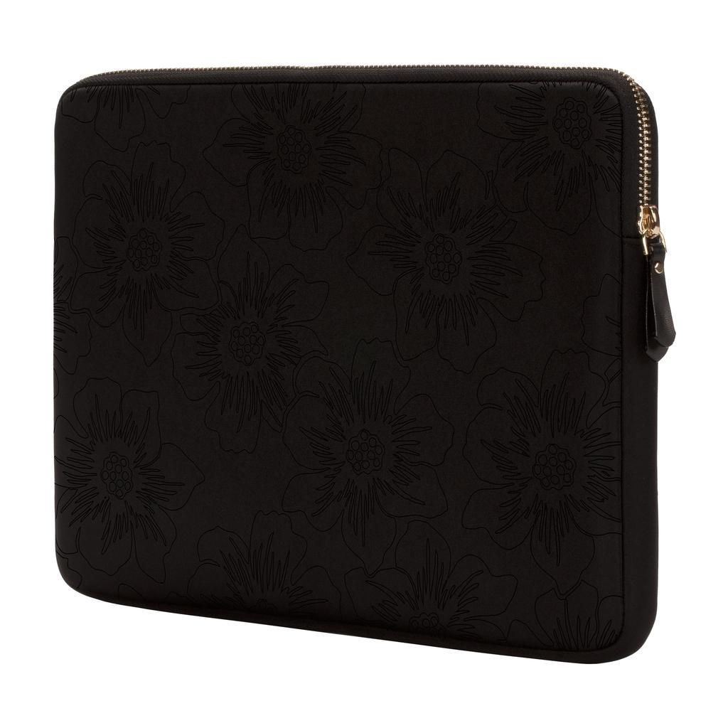 kate spade new york kate spade Slim 13-Inch Macbook Sleeve - Black Hollyhock