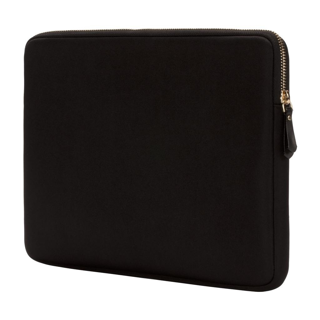 kate spade new york kate spade Slim 13-Inch Macbook Sleeve - Black / Gold Zipper