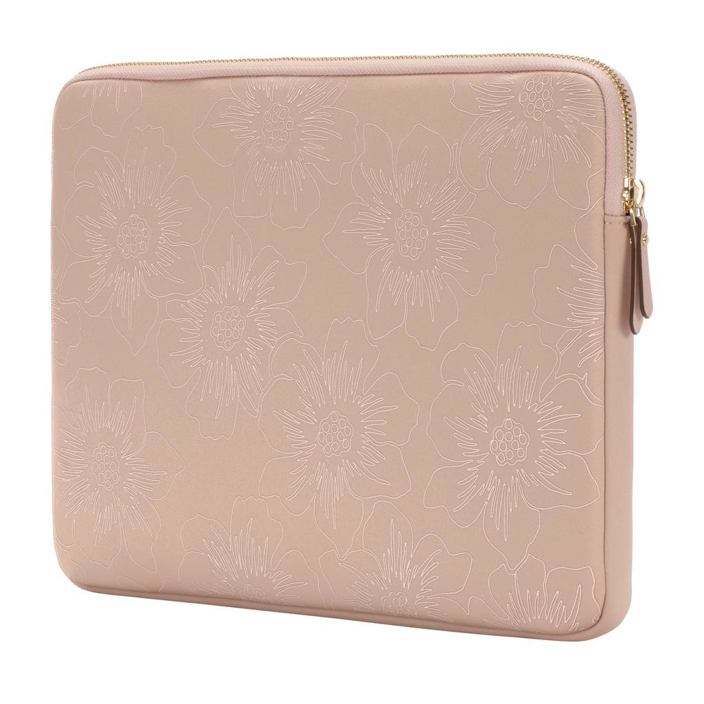 kate spade new york kate spade Slim 13-Inch Macbook Sleeve - Pale Vellum Hollyhock