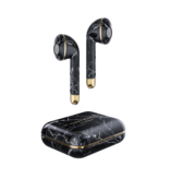 Happy Plugs Happy Plugs Air 1 True Wireless Earphones - Black Marble