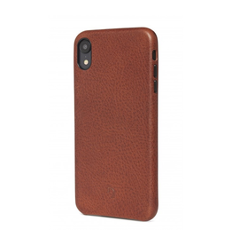 Decoded Back Cover for iPhone XR - Cinnamon Brown