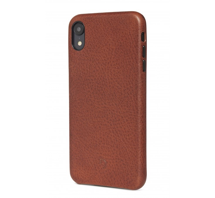Decoded Decoded Back Cover for iPhone XR - Cinnamon Brown