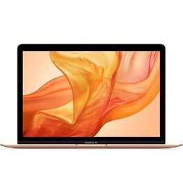 Apple 13-inch MacBook Air with Touch ID: 1.6GHz dual-core 8th-gen i5, 8GB, 128GB SSD - Gold (Open Box)