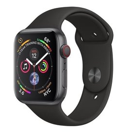Apple Apple Watch Series 4 GPS + Cellular, 44mm Space Grey Aluminium Case with Black Sport Band (Open Box)