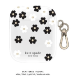 kate spade new york kate spade Flexible Case Scattered Flowers Clear for Airpods