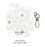 kate spade new york kate spade Flexible Case Hollyhock Floral Clear for Airpods