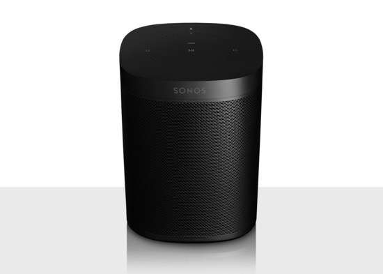 Sonos Sonos One Smart Speaker - Black (Open Box)