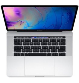 Apple Apple 15-inch MacBook Pro with Touch Bar: 2.6GHz 6-core 9th-generation Intel Core i7 , 16GB, Radeon Pro 555X with 4GB of GDDR5 memory, 256GB SSD - Silver (Open Box)