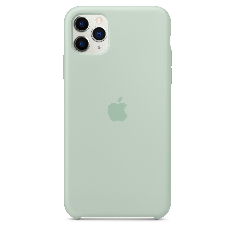 Apple Apple iPhone 11 Pro Max Silicone Case - Beryl