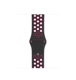 Apple 44mm Black/Pink Blast Nike Sport Band